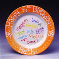 Birthday Plate Photo